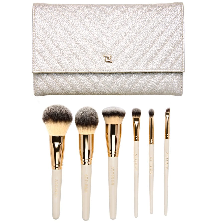 6pc Face Eye Brush Set