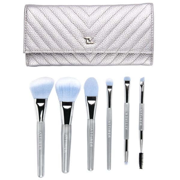 6pc Travel Brush Set